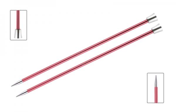 KnitPro knitting needles ZING 6.50 mm 40cm Coral