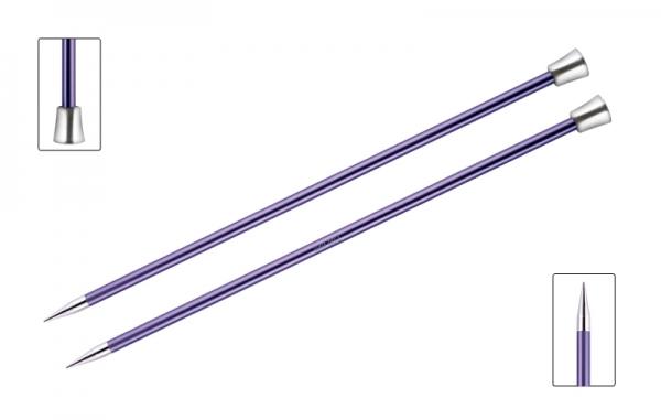 KnitPro knitting needles ZING 7.00 mm 40cm Amethyst