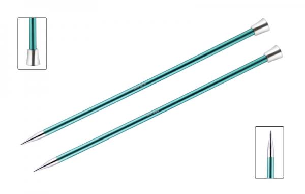 KnitPro knitting needles ZING 8.00 mm 40cm Emerald
