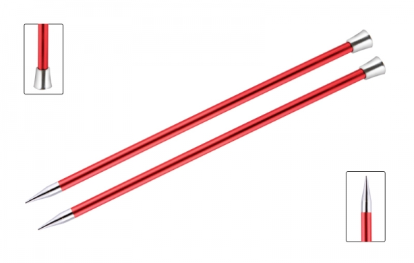 KnitPro knitting needles ZING 9.00 mm 40cm Garnet