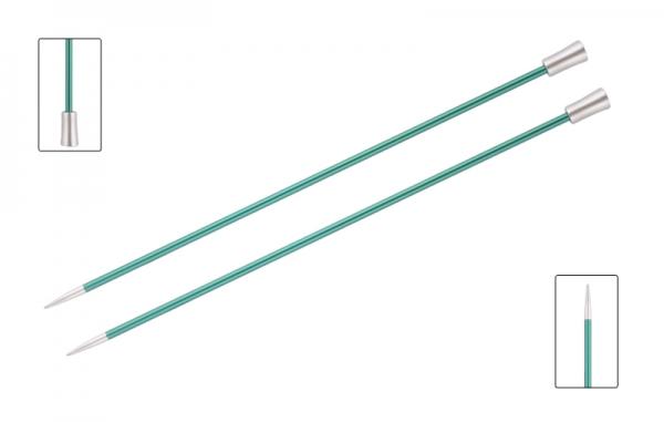 KnitPro knitting needles ZING 3.25 mm 40cm Emerald