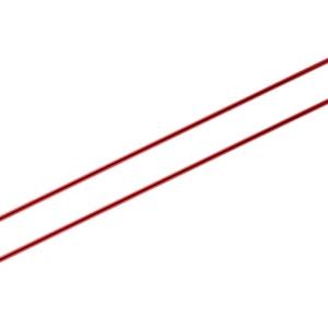 KnitPro knitting needles ZING 2.50 mm 40cm Garnet