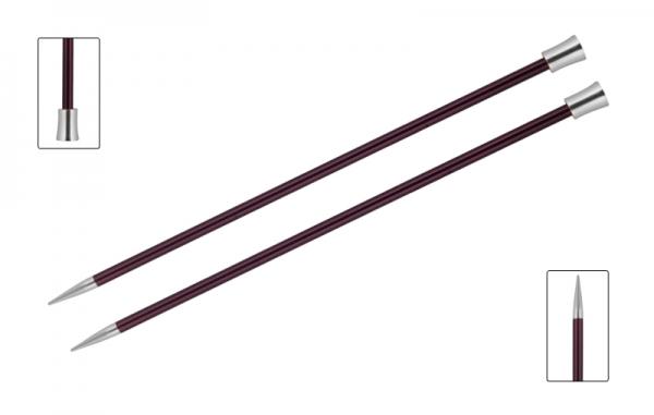 KnitPro knitting needles ZING 6.00 mm 40cm Purple
