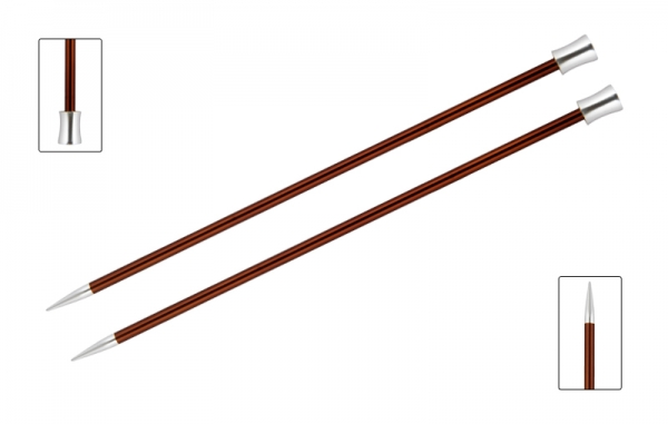 KnitPro knitting needles ZING 5.50mm 40cm Sienna