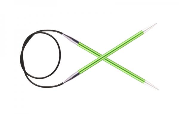 KnitPro Circular knitting needle ZING 3.50 mm 80 cm Chrysolite