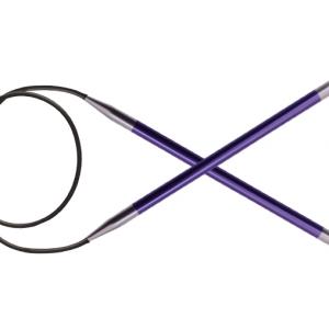 KnitPro Circular knitting needle ZING 3.75 mm 80 cm Amethyst