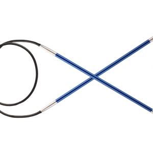 KnitPro Circular knitting needle ZING 4.00 mm 80 cm Sapphire