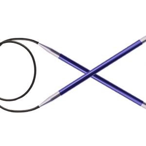 KnitPro Circular knitting needle ZING 4.50 mm  80 cm Iolit