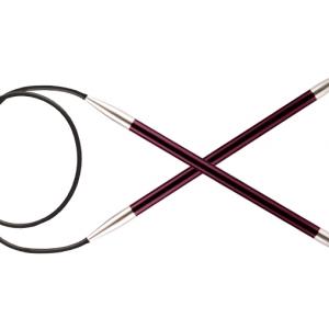 KnitPro Circular knitting needle ZING 6.00 mm 80 cm Purple