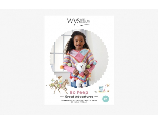WYS -West Yorkshire Spinners - BoPeep - Great Adventure Crochet Book Pattern Pattern
