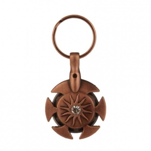 KnitPro Yarn Cutter Pendant (Antique Brass)   Antique Brass