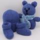 Bleu Newborn Baby Set