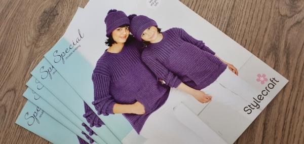9767 Sweater & hat