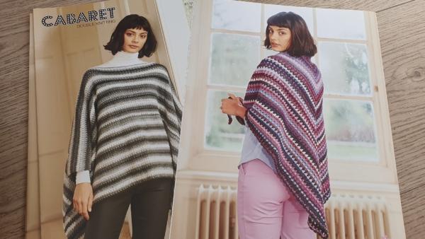 9781 Crochet Poncho and shawl